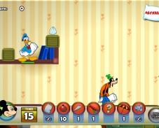 Игра Драка с Микки Маусом онлайн