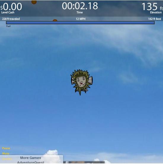 Игра Запуск ежа онлайн