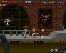 Игра Кот и мыши-зомби онлайн