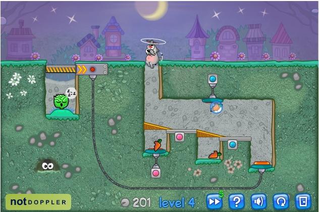 Игра Кролик-маньяк онлайн