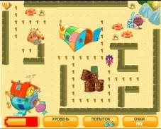 Игра Крош и няня онлайн