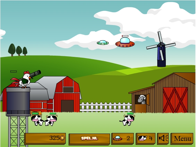 Игра Курица с базукой онлайн