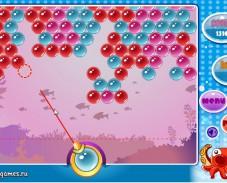 Игра Морские пузыри онлайн