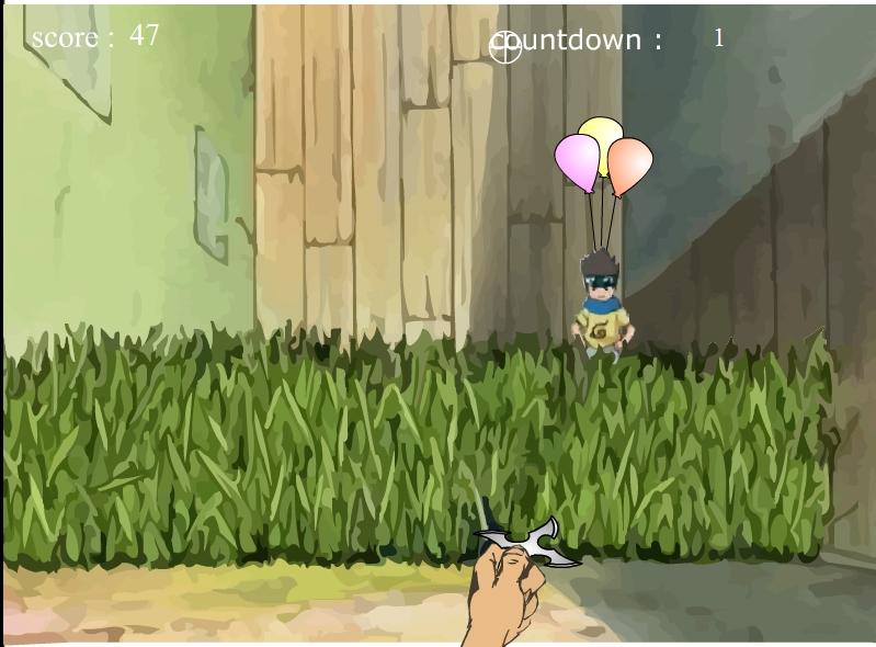 Игра Наруто – воздушные шары онлайн