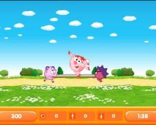 Игра Нюша на батуте онлайн