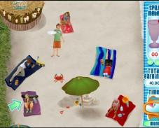 Игра Официант на пляже онлайн