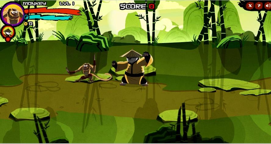 Игра Супер Панда Кунг Фу онлайн