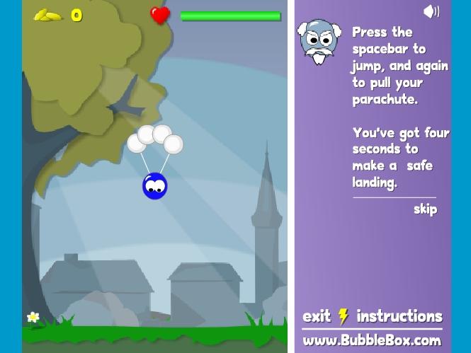 Игра Парашют онлайн