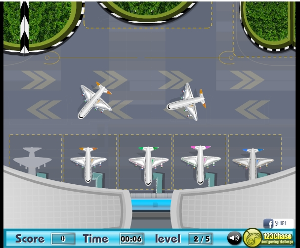 Игра Парковка самолета 2 онлайн