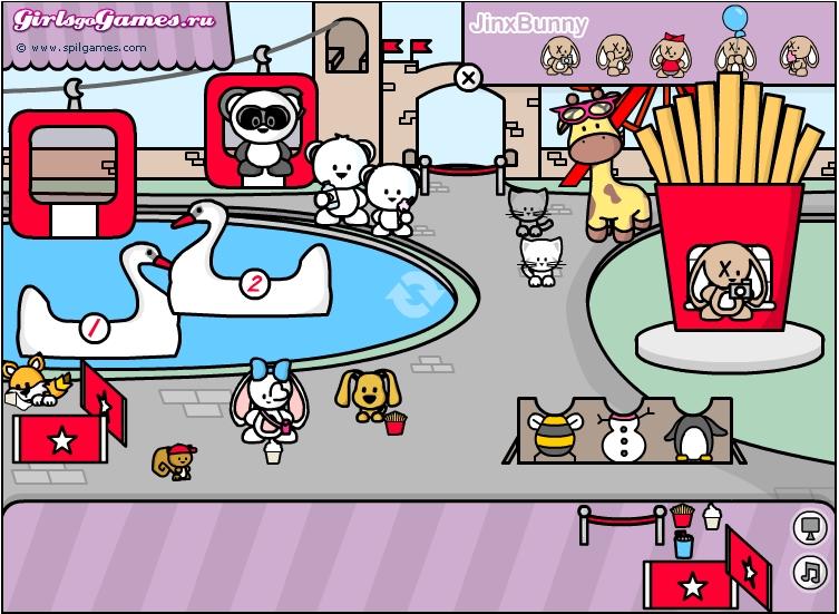 Игра Веселый парк развлечений онлайн