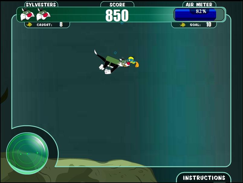 Игра Подводная рыбалка онлайн