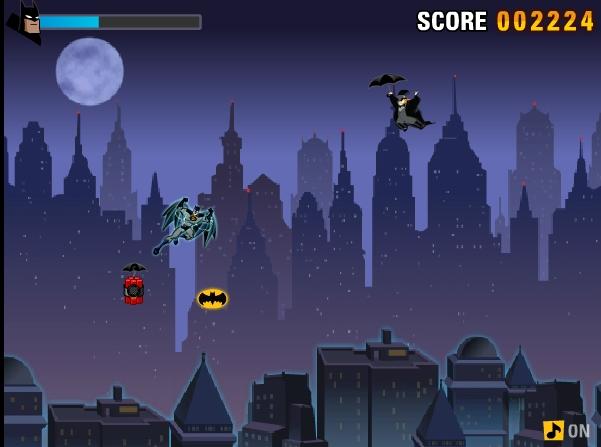 Игра Полет Бэтмена онлайн