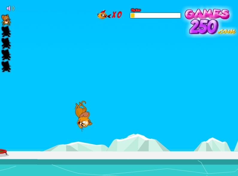 Игра Полет Джерри онлайн