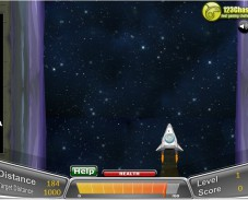 Игра Полет в космосе онлайн