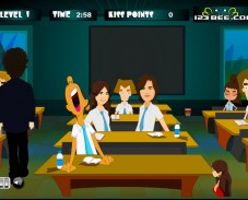 Игра Поцелуи на уроках онлайн