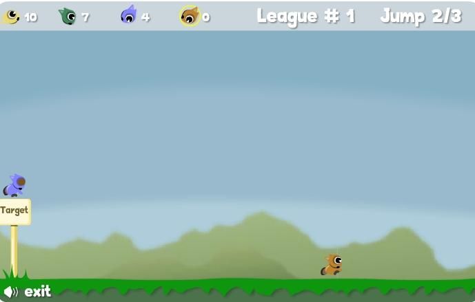 Игра Прыжки с дерева онлайн