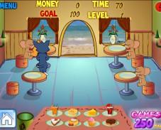 Игра Ресторан Том и Джерри онлайн