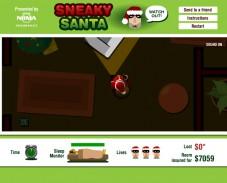 Игра Санта грабитель онлайн