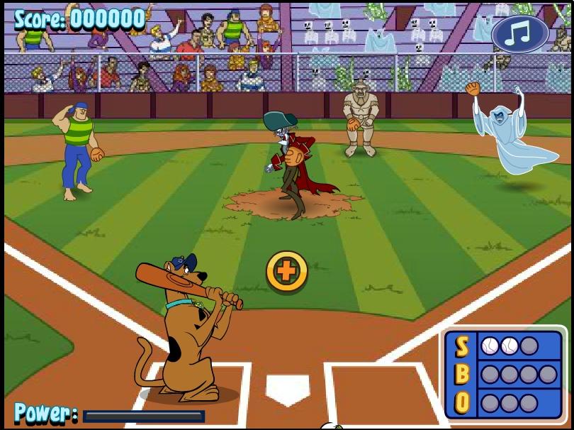 Игра Скуби Ду Бейсбол онлайн