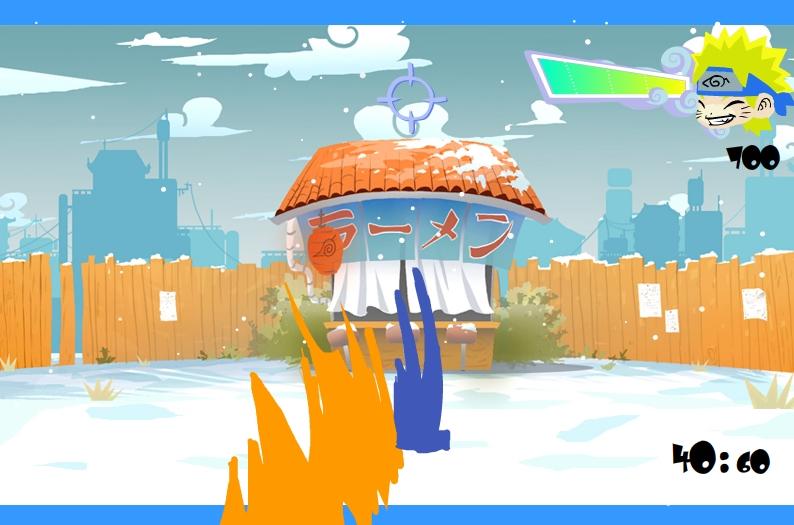Игра Снежки Наруто онлайн