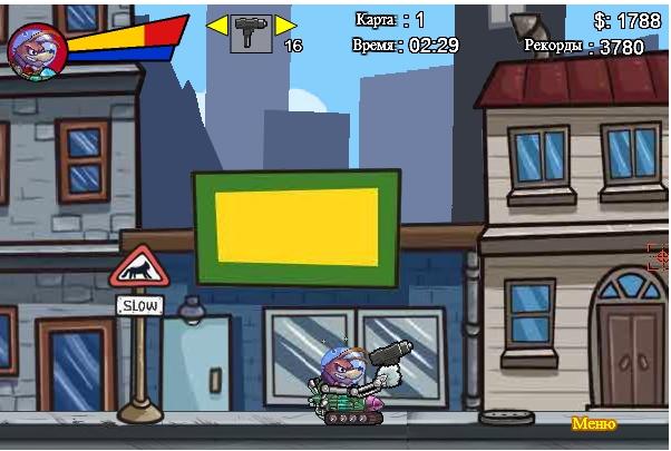 Игра Собака-Разрушака онлайн