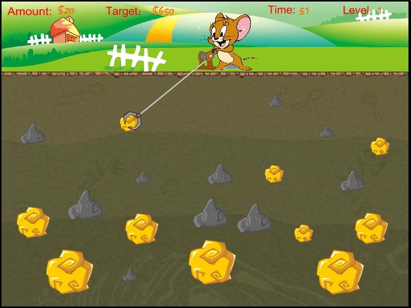 Игра Собери слитки золота онлайн