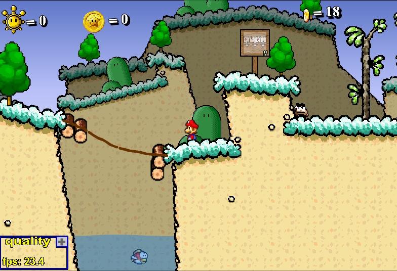 Игра Супер Марио 63 онлайн