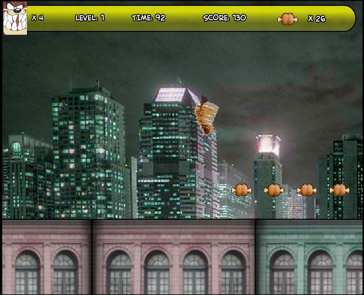 Игра Таз в городе онлайн