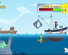 Игра Твити собирает мусор онлайн