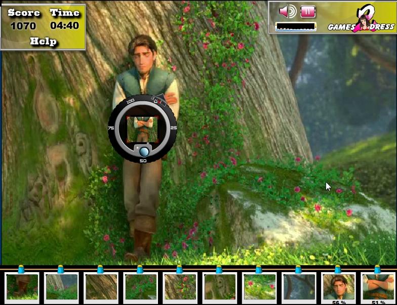 Игра Фото Рапунцель онлайн