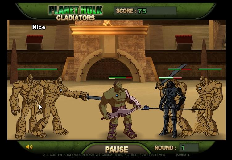 Игра Халк сражение онлайн