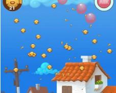 Игра Цыплята и шарики онлайн
