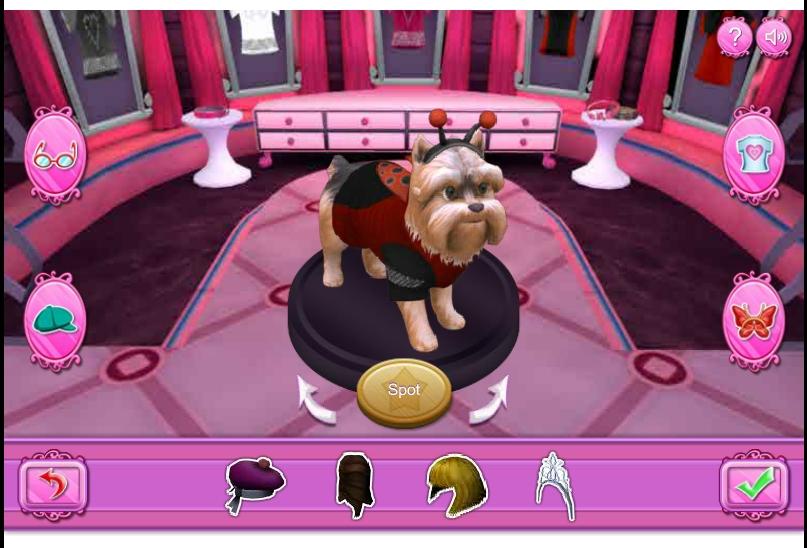 Игра 3D одевалка собак онлайн