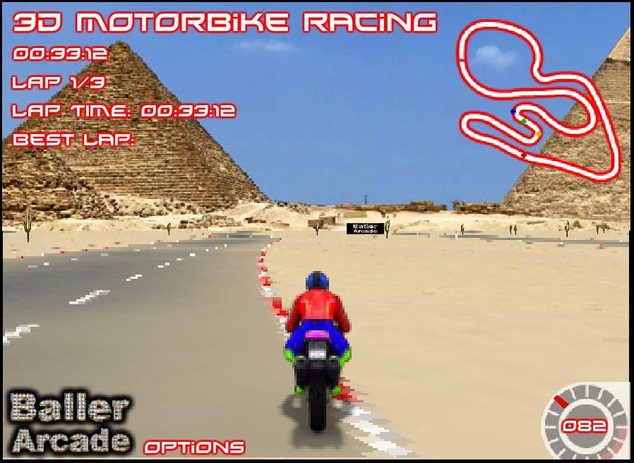 Игра 3d Motorbike Racer онлайн
