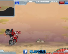 Игра ATV Offroad Lightning онлайн