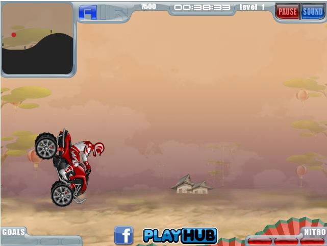 Игра ATV Offroad Lightning онлайн