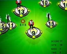 Игра Ben 10 Addition онлайн