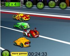 Игра Ben 10 Math Race онлайн