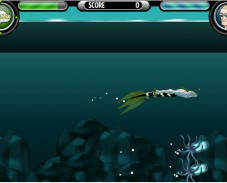 Игра Ben 10 Power Splash онлайн