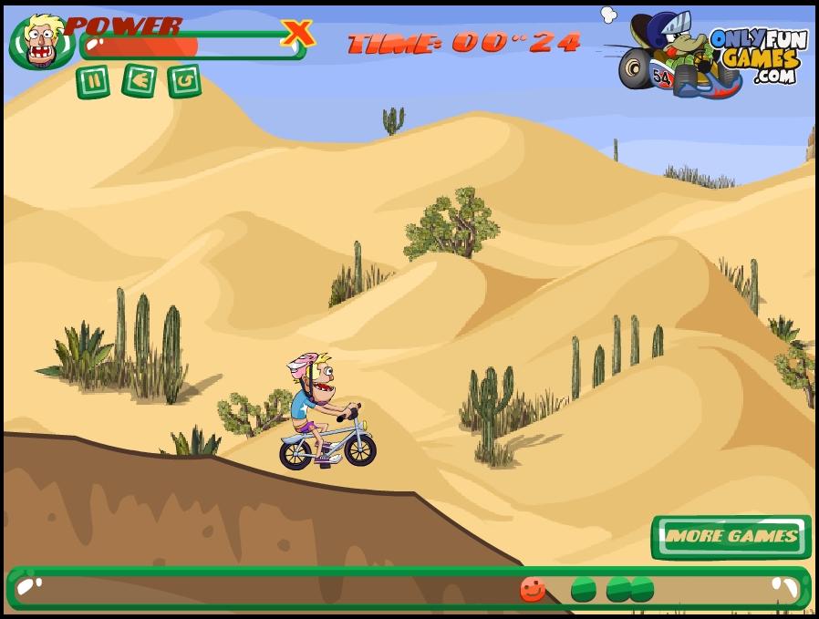 Игра Bicycle Run онлайн