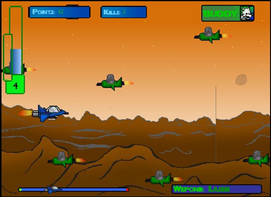 Игра Buddy in Space онлайн