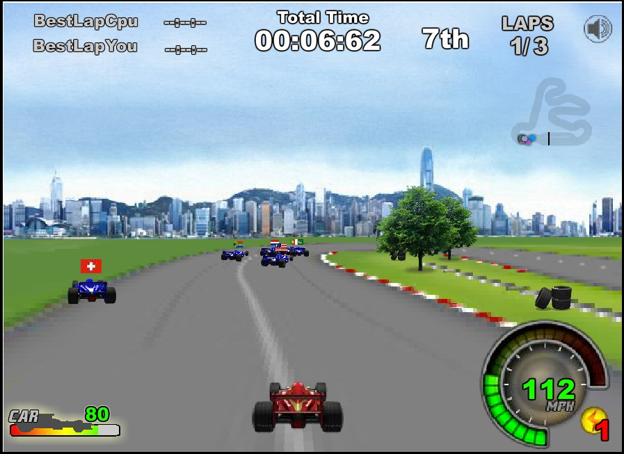 Игра Ho-pin Tung Racer онлайн