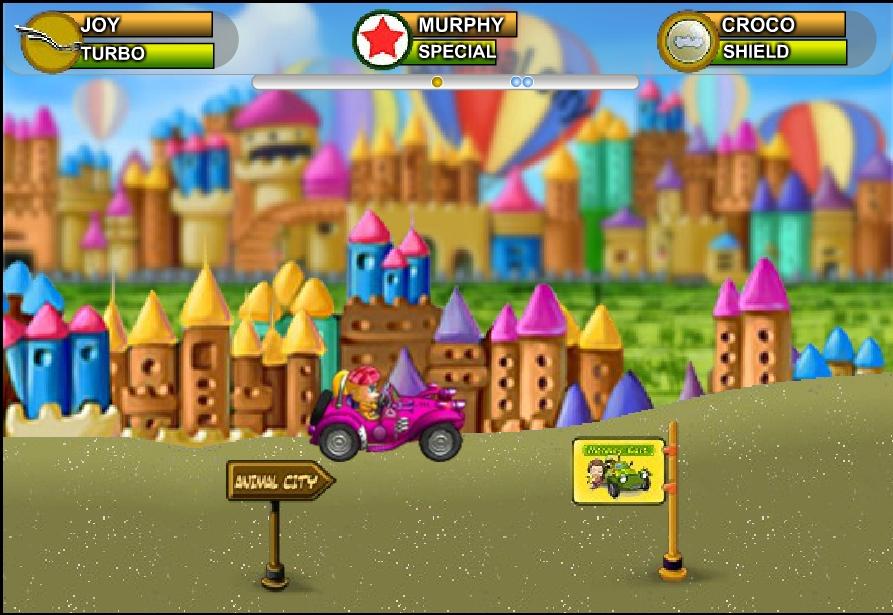 Игра Monkey Kart онлайн