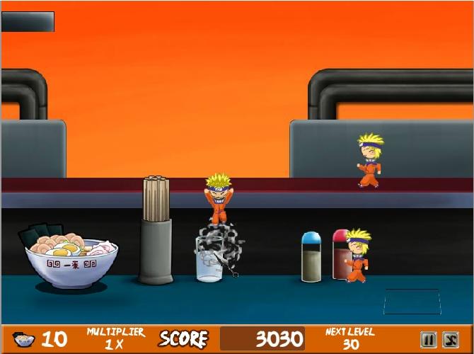 Игра Удержи атаку Наруто онлайн