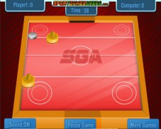 Игра Air Hockey онлайн