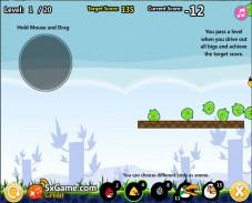 Игра Angry Birds Cannon онлайн
