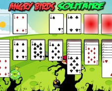 Игра Angry Birds Solitaire онлайн