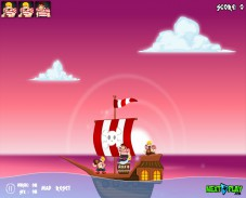 Игра Angry Pirates онлайн