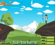 Игра Ben 10 Bird Hunting онлайн