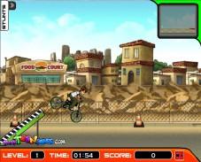 Игра Ben 10 Street Stunt онлайн